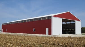 Machine Shed and Cold Storage by Greiner Buildings