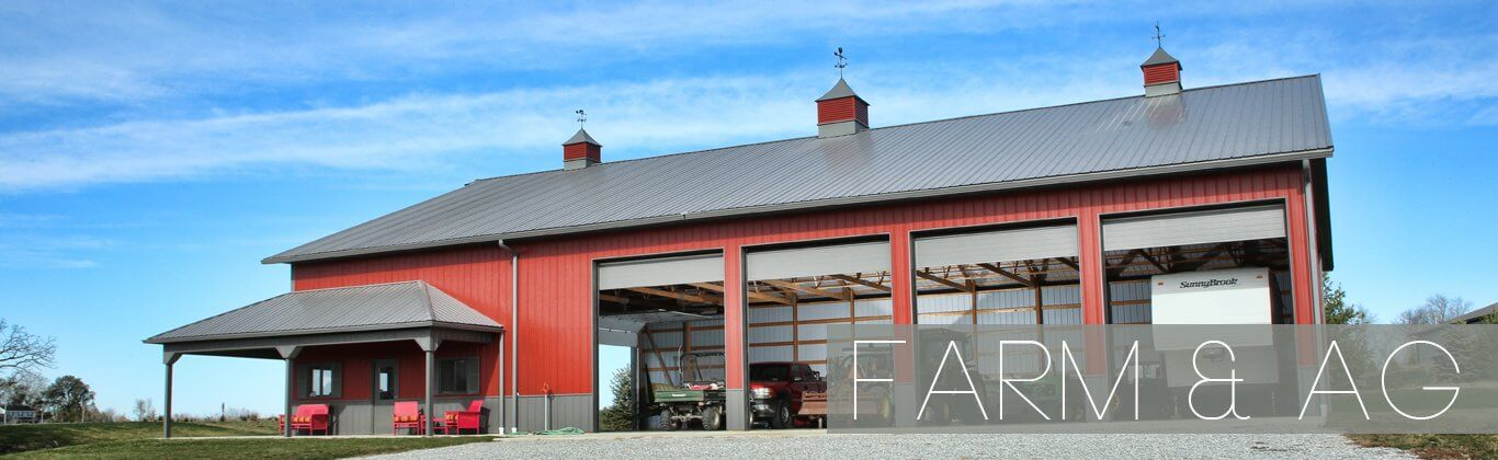 Farm and Ag Pole Barn Shed