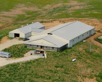 Horse Barns in Iowa and Illinois