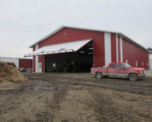Machine Shed for Winter Equipment Storage from Greiner Buildings