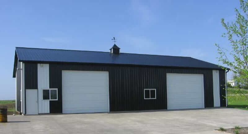 Lined Shop Machine Shed Combo Gallery Iowa And Illinois