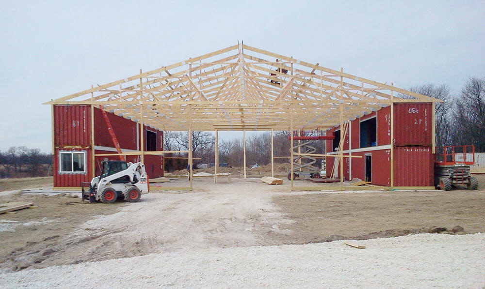 Pole buildings for residential living greiner buildings for Residential pole barn homes
