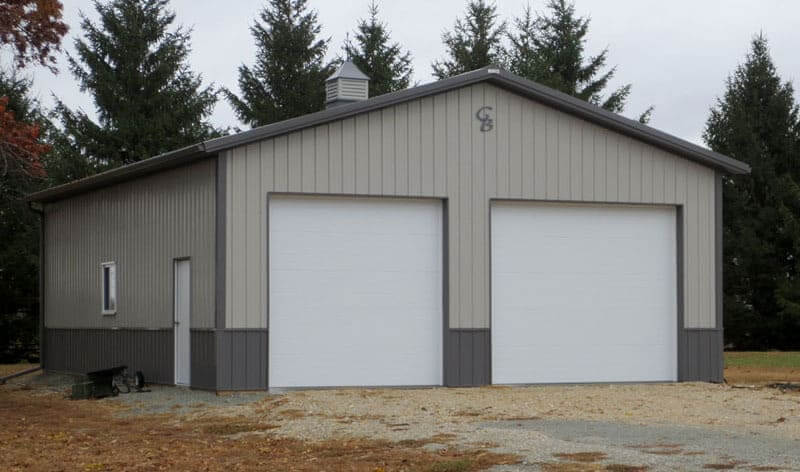 Dennis c 30 39 x 40 greiner buildings inc for Commercial garage plans