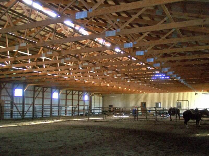 Horse Riding Arenas From Greiner Buildings in Illinois and Iowa