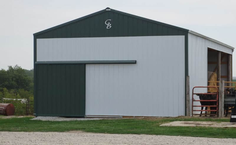 Cattle Sheds Open Front Buildings In Iowa And Illinois