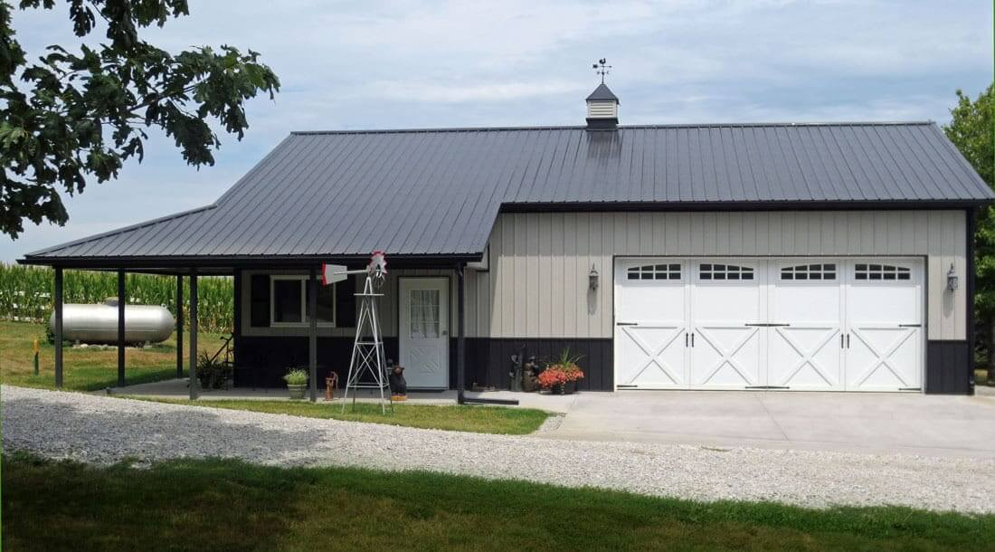 Residential Garage And Hobby Buildings In Iowa And Illinois