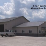 Brian Wolfe Contracting 48'x72'x16' Muscatine, IA GB#2400