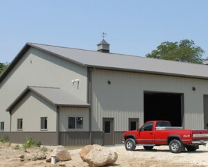 Lined & Insulated Farm Shop | Greiner Buildings