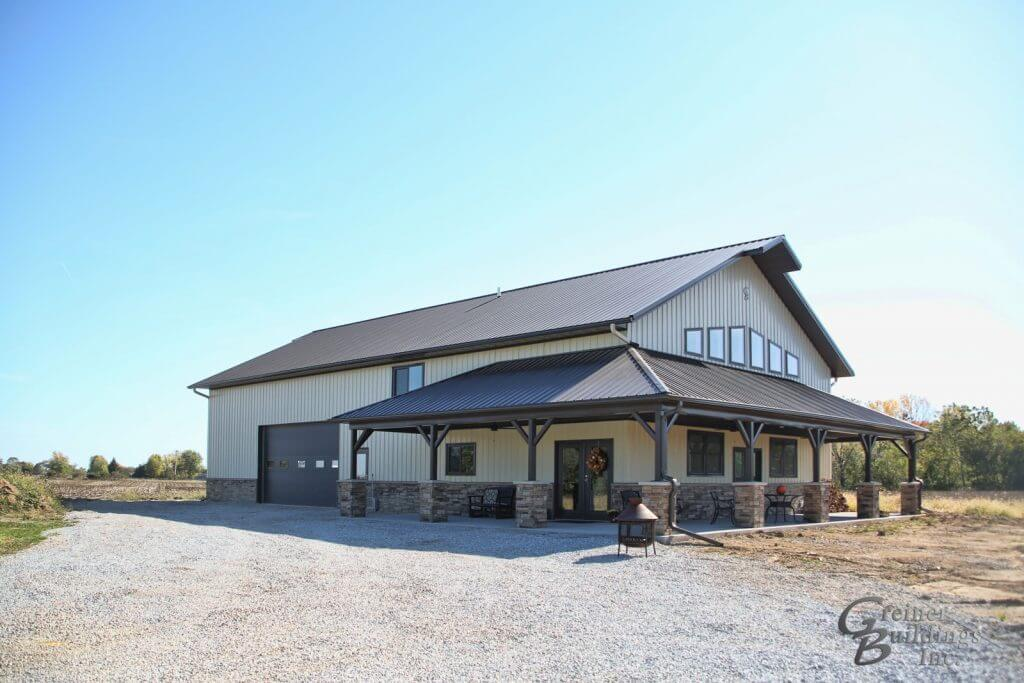 Custom Pole Barn Homes