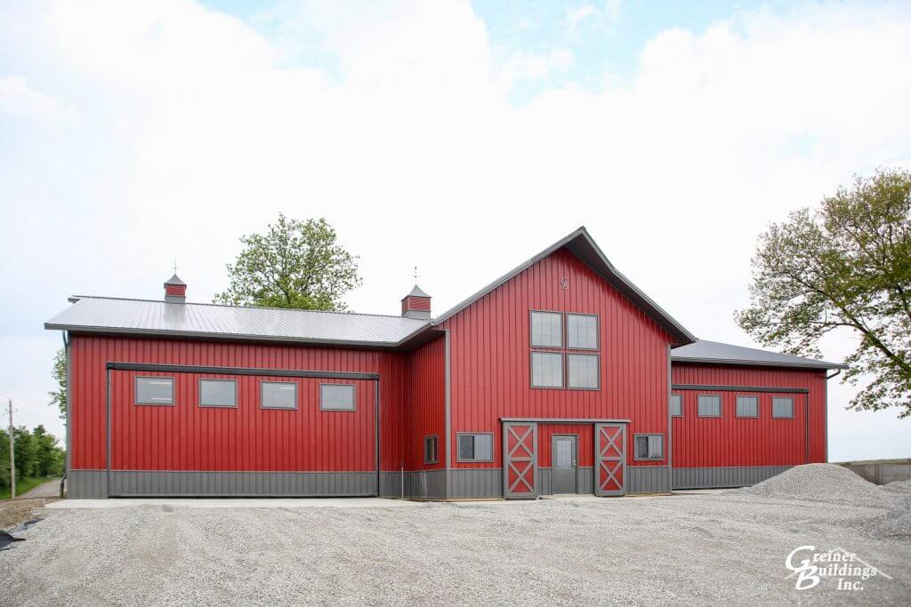 Greiner Buildings specializes in Lined and Insulated Shops, Machine Sheds, Garages, Shomes, Commercial Buildings and more in the Henry County area. Servicing Mount Pleasant , Hillsboro, New London, Rome, Salem, Wayland, and Winfield, Iowa for your post frame buildings.